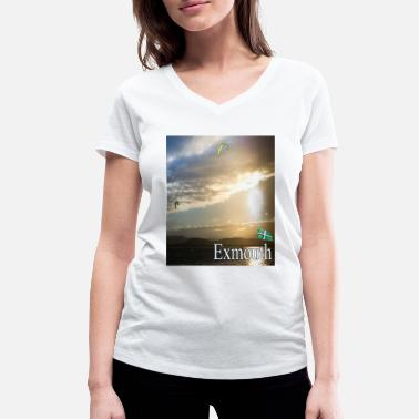 Cloud Exmouth, Devon - Women's Organic V-Neck T-Shirt