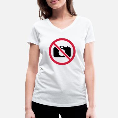 Picture No pictures! - Women's Organic V-Neck T-Shirt