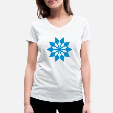 Pattern Star - Women's Organic V-Neck T-Shirt
