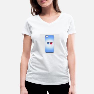 Iphone-44s 3d psychedelic goa meditation glasses iphone 44s h - Women's Organic V-Neck T-Shirt