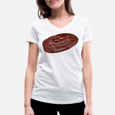 Dates date - Women's Organic V-Neck T-Shirt