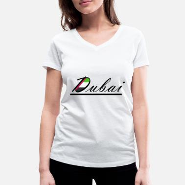 Arabia Dubai Arabia - Women's Organic V-Neck T-Shirt