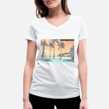 Hawaii Hawaii - Women's Organic V-Neck T-Shirt