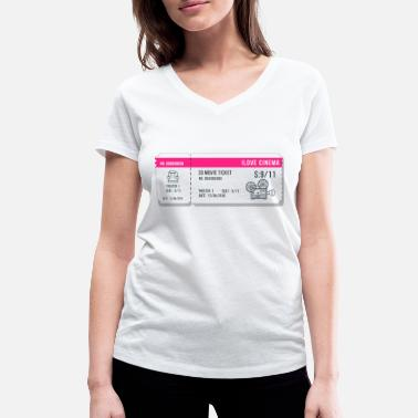 Cinema Cinema 2 - Women's Organic V-Neck T-Shirt