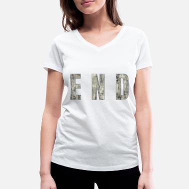 End END - The End - Women's Organic V-Neck T-Shirt
