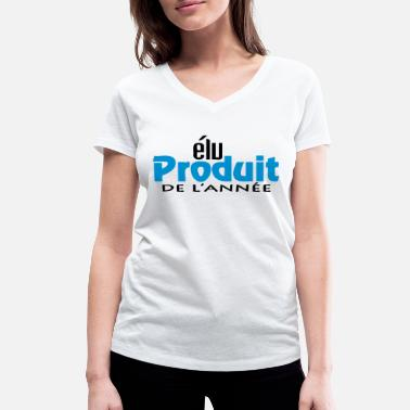 Production Year Product of the year (2c, 1c) - Women's Organic V-Neck T-Shirt