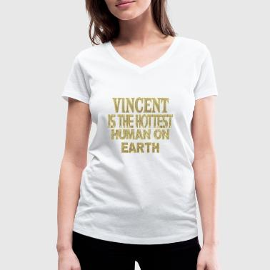 Vincent - Women's Organic V-Neck T-Shirt by Stanley & Stella