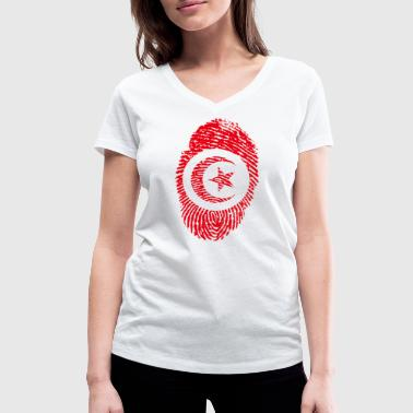 TUNISIA TUNISMANS ISLAM GIFTS T-SHIRT - Women's Organic V-Neck T-Shirt by Stanley & Stella