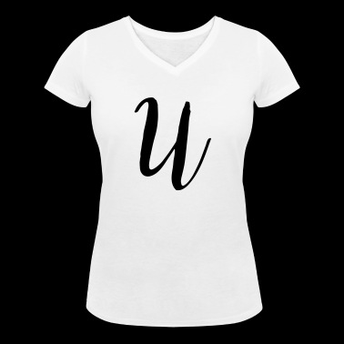 U - Women's Organic V-Neck T-Shirt by Stanley & Stella