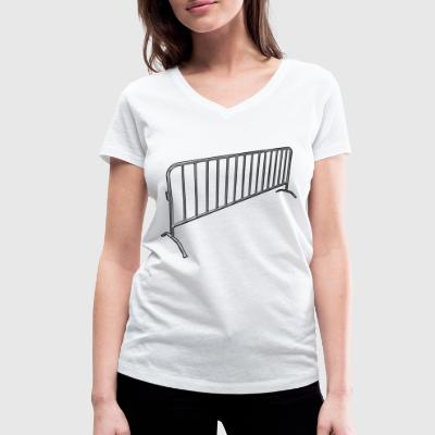 Fences - Women's Organic V-Neck T-Shirt by Stanley & Stella