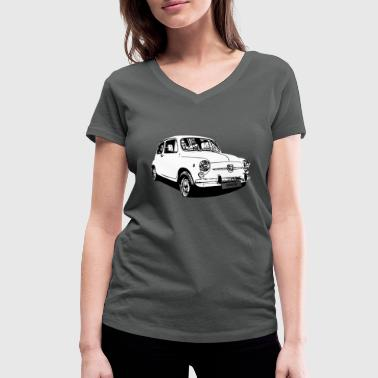 Vintage car - Women's Organic V-Neck T-Shirt by Stanley & Stella