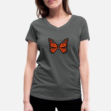 Butterfly butterfly - Women's Organic V-Neck T-Shirt by Stanley & Stella