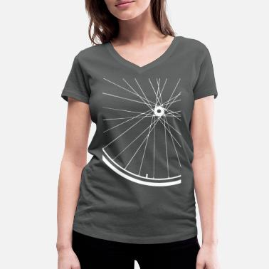 Road Road bike rim - Women's Organic V-Neck T-Shirt