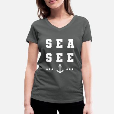 Sailing Club Sailing | Gift sailor | Gift sailing funny - Women's Organic V-Neck T-Shirt