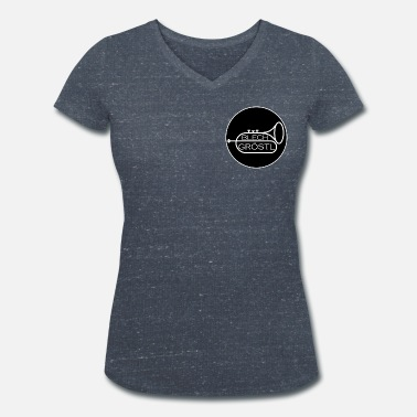 Sheet Metal Sheet metal Gröstl - Women's Organic V-Neck T-Shirt by Stanley & Stella