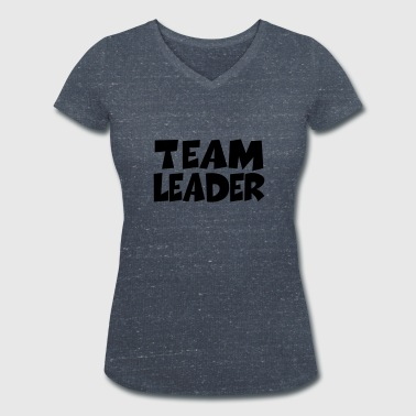 Team Leader - Women's Organic V-Neck T-Shirt by Stanley & Stella