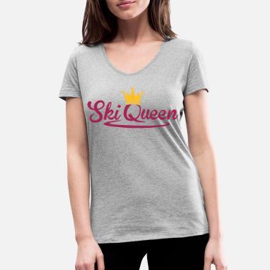 Ski Queen Reina de Ski - snow Queen - ski snowboard en paseo - Camiseta con 3425239f6a1