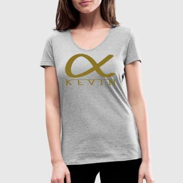 Alpha Kevin! Ideal for all alpha animals - Women's Organic V-Neck T-Shirt by Stanley & Stella