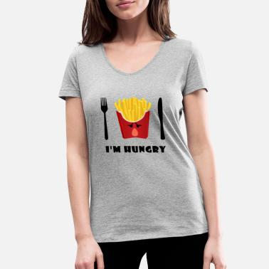 Chip chips - Women's Organic V-Neck T-Shirt by Stanley & Stella