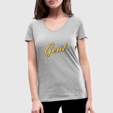 Gents Gent - Women's Organic V-Neck T-Shirt by Stanley & Stella