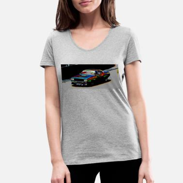 Dodge Dodge in colors - Women's Organic V-Neck T-Shirt