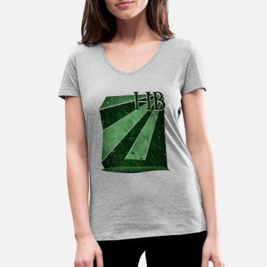 Stadium Bremen football stadium Weser Stadium - Women's Organic V-Neck T-Shirt