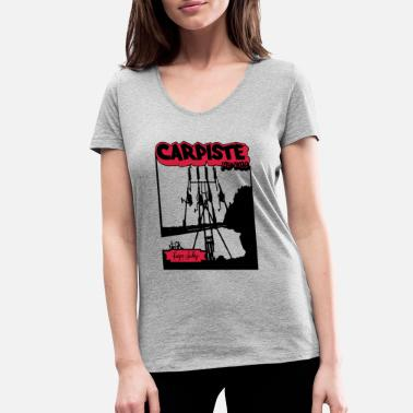 Carp Carp's carpiste CARP'S JACKING - Women's Organic V-Neck T-Shirt
