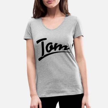 Tom tom | Tom - Women's Organic V-Neck T-Shirt