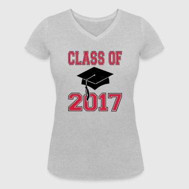 Class of 2017 - Women's Organic V-Neck T-Shirt by Stanley & Stella