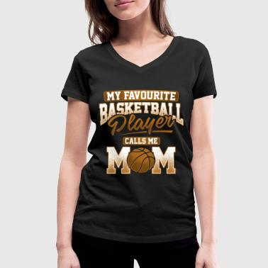 Favourite Basketball Player - T-shirt ecologica da donna con scollo a V di Stanley & Stella