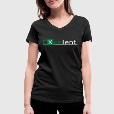 Spreadsheets ExcellentGW - Women's Organic V-Neck T-Shirt by Stanley & Stella