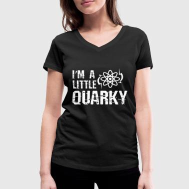 Quark Quark physics - Women's Organic V-Neck T-Shirt by Stanley & Stella