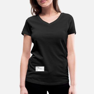 Selfconfidence The Dubs Clothing Co. Collection - Women's Organic V-Neck T-Shirt by Stanley & Stella