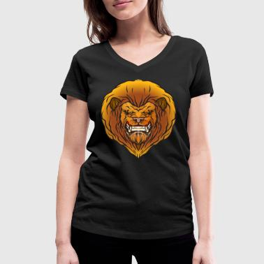 The Lion King - Women's Organic V-Neck T-Shirt by Stanley & Stella