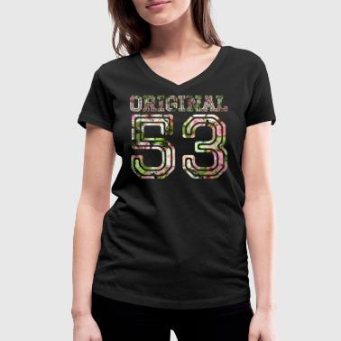 1953 Year 1953 - 53 years - Women's Organic V-Neck T-Shirt by Stanley & Stella