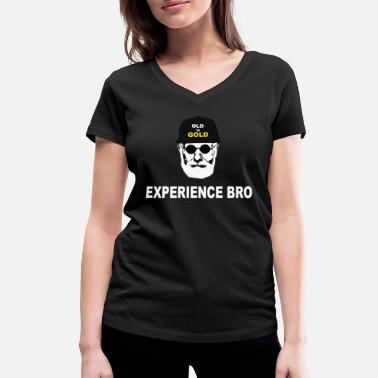 Experience experience - Women's Organic V-Neck T-Shirt by Stanley & Stella
