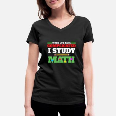 Calculus I Study Math - Women's Organic V-Neck T-Shirt by Stanley & Stella
