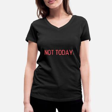 Symbiosis Today not gift idea - Women's Organic V-Neck T-Shirt by Stanley & Stella