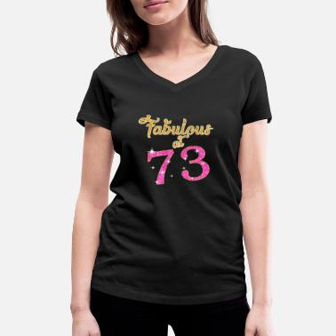 Camaro Fabulous at 73 - Women's Organic V-Neck T-Shirt by Stanley & Stella