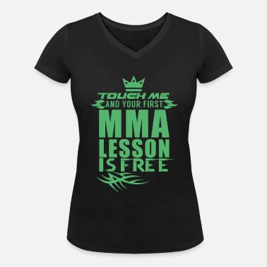 Mixed Martial Arts Mixed Martial Arts - Frauen Bio T-Shirt mit V-Ausschnitt