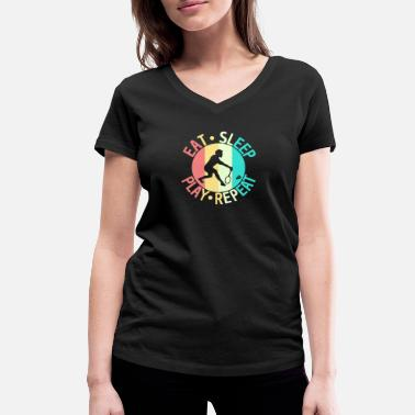 Badminton Players Badminton badminton badminton player gift - Women's Organic V-Neck T-Shirt by Stanley & Stella