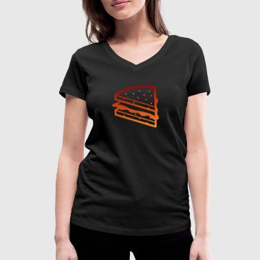 A Sandwich - Women's Organic V-Neck T-Shirt by Stanley & Stella