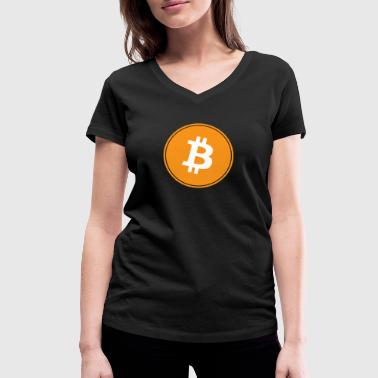 Bitcoin the original - Women's Organic V-Neck T-Shirt by Stanley & Stella