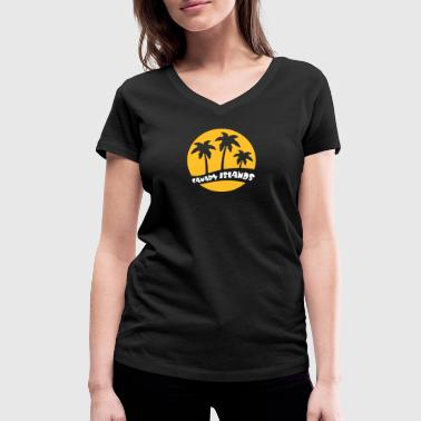 Canary Islands - V2 - Women's Organic V-Neck T-Shirt by Stanley & Stella