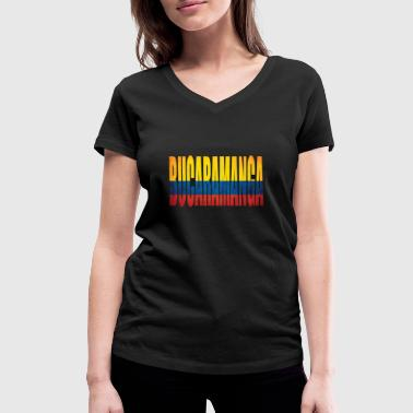Transcontinental Colombia Bucaramanga - Women's Organic V-Neck T-Shirt by Stanley & Stella