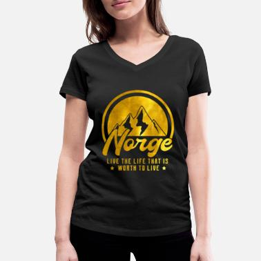Norway Norway - Women's Organic V-Neck T-Shirt