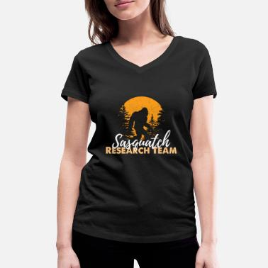 Sasquatch Sasquatch Bigfoot - Women's Organic V-Neck T-Shirt