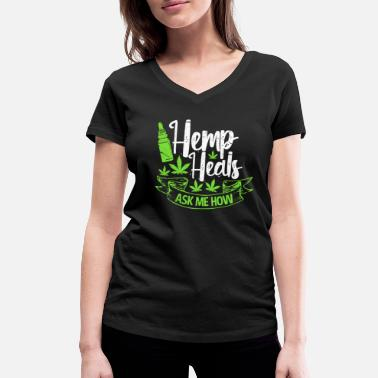 Hemp hemp - Women's Organic V-Neck T-Shirt