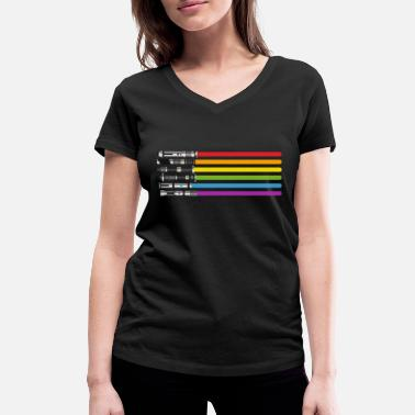 Lightsaber Lightsabers - Women's Organic V-Neck T-Shirt