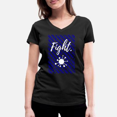 Virus VIRUS - Women's Organic V-Neck T-Shirt